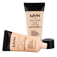 NYX - Матирующий тональный крем NYX stay matte but not flat в ассортименте