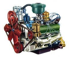 Двигатель, запчасти к двигателю ЗИЛ