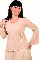 Свитер кофточка хлопок блуза  женская( БЛ 320044-1)