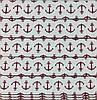 Римская штора для детской Якоря-5