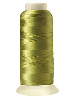 """Нитки вышивальные шелковые  """"777"""" - цвет оливковый"""