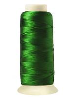 """Нитки вышивальные шелковые  """"777"""" - цвет зеленый"""
