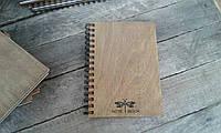 Деревянный блокнот СТРЕКОЗА тонированный, фото 1