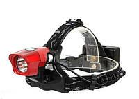 Фонарь светодиодный Bailong LL-6635 Велофара+налобный, фото 1