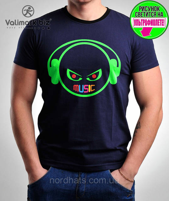 Футболка молодежная Valimark biz  Music