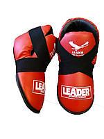 Футы LEADER таэквондо ITF р. XL красный