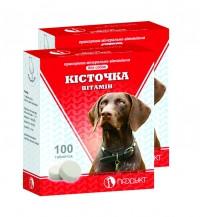 Косточка витамин 100 таб. витаминно-минеральная добавка для щенков и взрослых собак