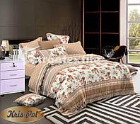 Комплект постельного белья полуторный двуспальный евро семейный ранфорс