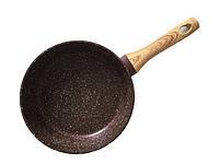 """Сковорода с антипригарным покрытием 24х6.5см Fissman """"Mosses stone"""" (AL-4296.24)"""