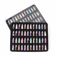 """Набор мини-бутылочек для декора ногтей """"Все в одном!"""" (48 шт.), микс"""