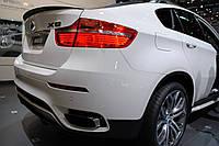 Cпойлер на крышку (сабля, утиный хвостик, лип спойлер) багажника BMW X6 E71