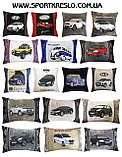 Автомобільна подушка з логотипом bmv бмв, фото 7