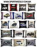 Автомобільна подушка з вишивкою bmv бмв, фото 6