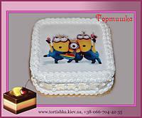 Детский торт Миньонс