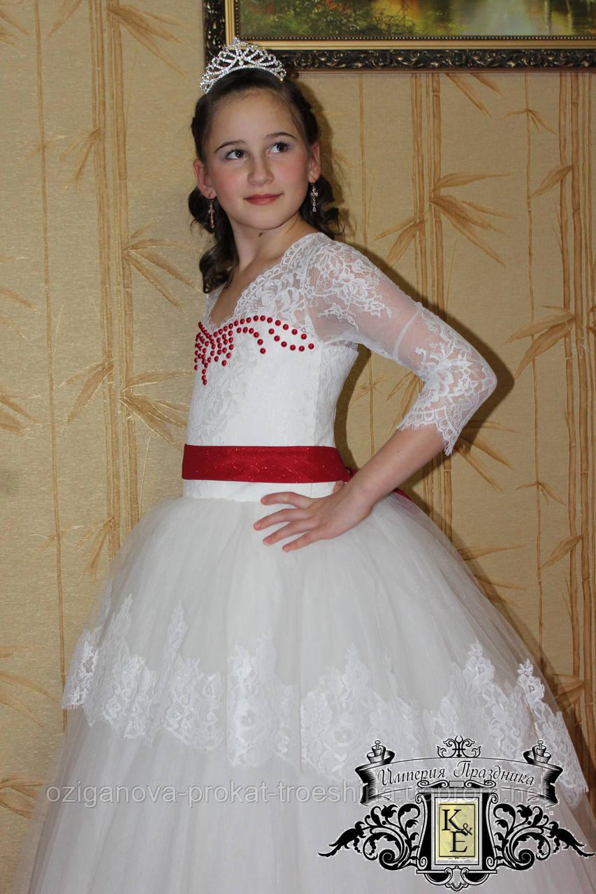 cf727019e23 Детское нарядное платье Снежинка (Фаина) - прокат