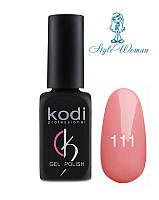 Kodi professional гель лак Коди 111 8мл розово персиковый