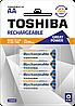 Аккумулятор Toshiba great power R6 (АА), 2250mAh Ni-MH