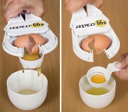 Прибор (машинка, устройство) для разбивания яиц EZ Cracker