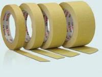 Малярная лента (малярный скотч) Radex желтая 80ºС 50м 19-50mmх50m 370601