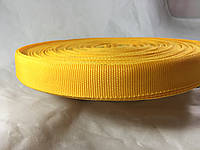 Тесьма , обтачка сумочная 23 мм цвет желтый