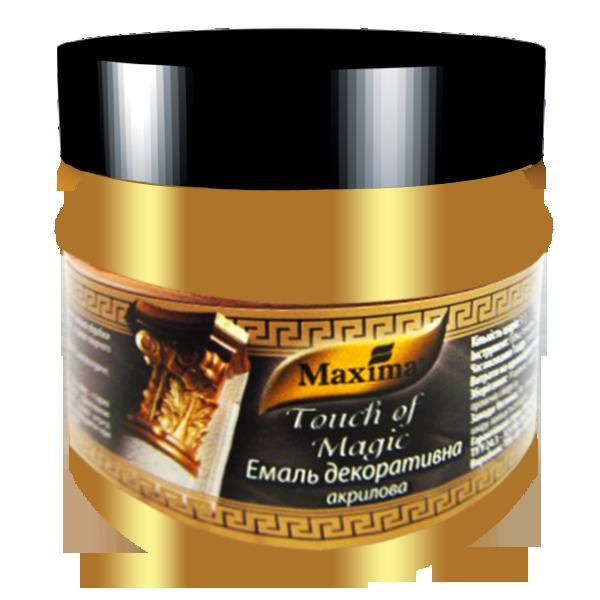 Эмаль декоративная акриловая Maxima жемчужина 0,1 л