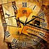 """Настенные часы 300Х300Х16мм """"Эйфелева башня"""" [МДФ, Открытые]"""