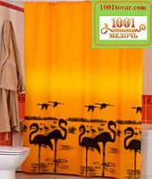 """Шторка для ванной комнаты """"Flamingo"""", Miranda. Производство Турция"""