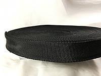 Тесьма , обтачка сумочная 23 мм цвет черный