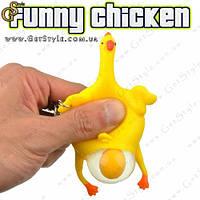 """Брелок Смешная курица - """"Funny Chicken"""""""