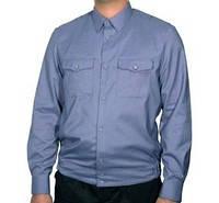 Рубашка охранника с длинным рукавом на поясе