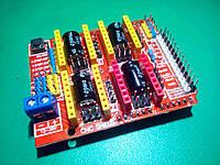 Плата расширения ЧПУ Arduino UNO CNC Shield v3.0