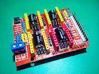 Плата розширення ЧПУ Arduino UNO CNC Shield v3.0, фото 1