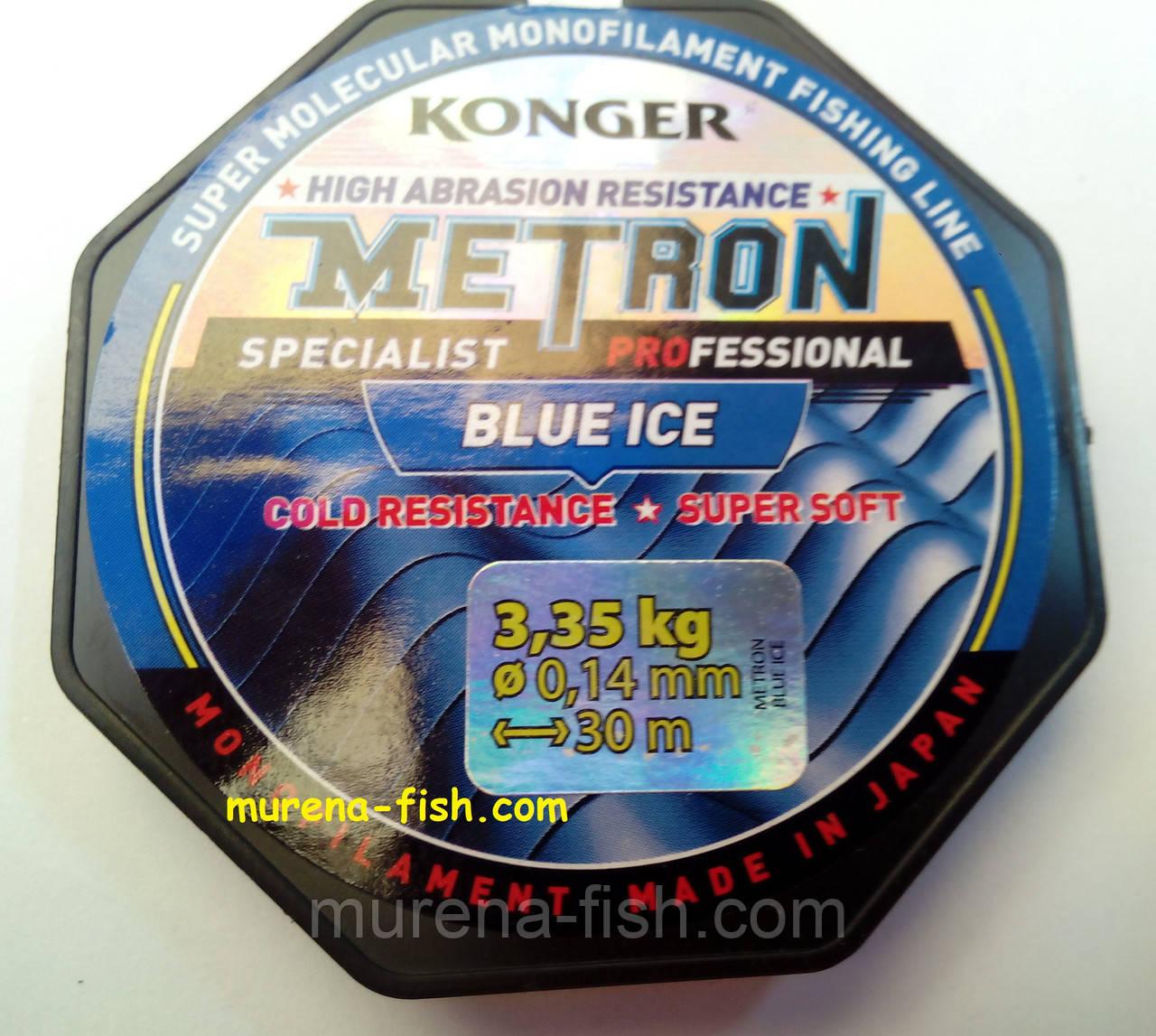 "Леска Konger ""Steelon"" ""Steelon Ice"" ""Metron"" 0,08 мм 1,15 кг"