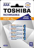 Аккумулятор Toshiba great power R03 (ААA), 750mAh Ni-MH