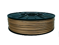 Нить ABS (АБС) пластик для 3D принтера, 1.75 мм, бронзовый