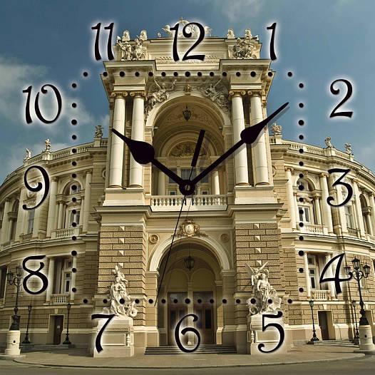 """Настенные часы 300Х300Х16мм """"ОДЕССА"""" [МДФ, Открытые]"""