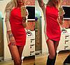 Женское модное двухцветное платье (3 цвета) , фото 3