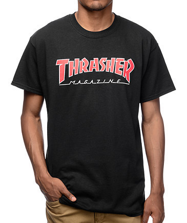 Футболка с принтом Thrasher Magazine мужская