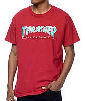 Футболка с принтом Thrasher Magazine мужская для скейтеров