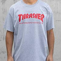 Футболка мужская с легендарным принтом Thrasher SKATE MAG