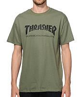 Футболка мужская для скейбординга с принтом Thrasher Skateboard Magazine