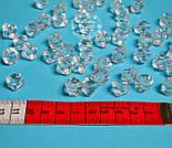 """Бусины акриловые """"Бриллиант"""" малые, размер 14 мм., фото 2"""