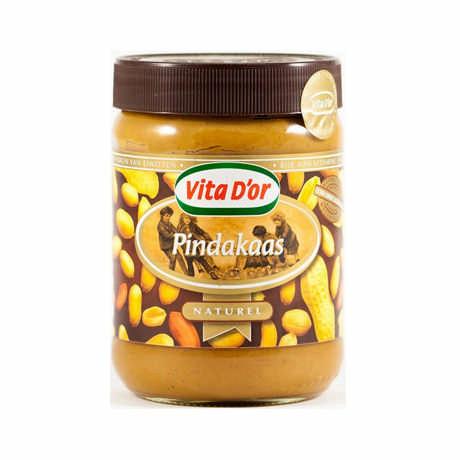 Арахисовое масло Vita D'or Naturel Вита дор натурель (Голландия) 500г