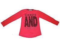 """Водолазка для девочек с надписью """"Secrets and Regrets"""" 9-12 лет."""