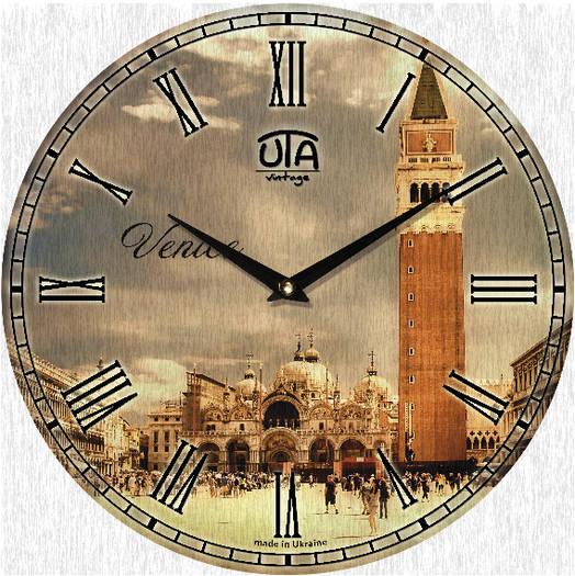 "Настенные часы 330Х330Х30мм ""Вена"" [МДФ, Открытые]"