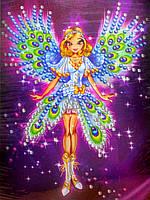 Картина из пайеток Волшебница-фея (Пм-04-03), фото 1