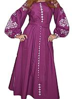 """Жіноче вишите плаття """"Маріанна"""" (Женское вышитое платье """"Марианна"""") PR-0001"""