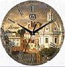 """Настенные часы 330Х330Х30мм """"Рим"""" [МДФ, Открытые]"""