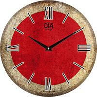 """Настенные часы 330Х330Х30мм """"Флаг Японии"""" [МДФ, Открытые]"""