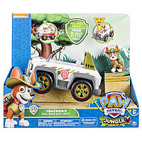 Джип с фигуркой Трекера (звук, свет) - Paw Patrol, Jungle Rescue, Tracker`s Pull Back Explorer, Spin Master